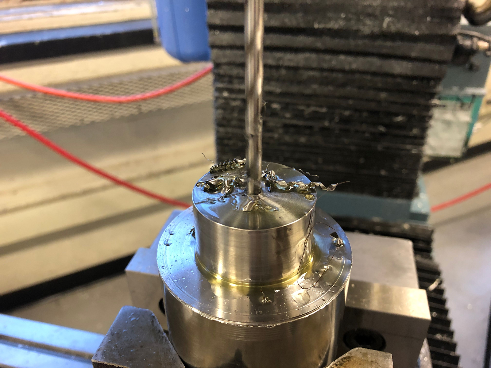 machining a Structures part
