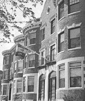 old picture of 314 memorial drive