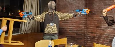 nerf gun fights