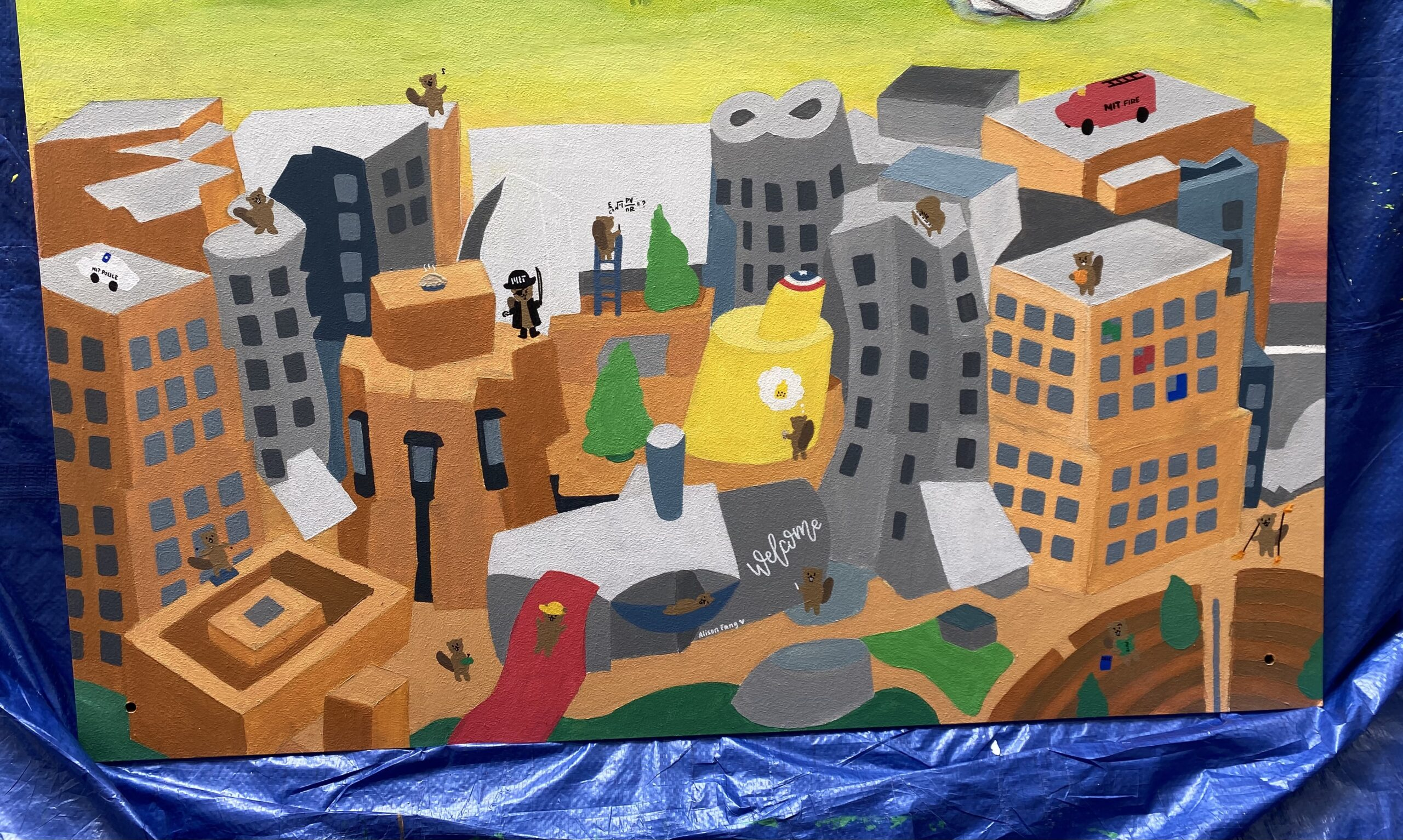 painting of stata