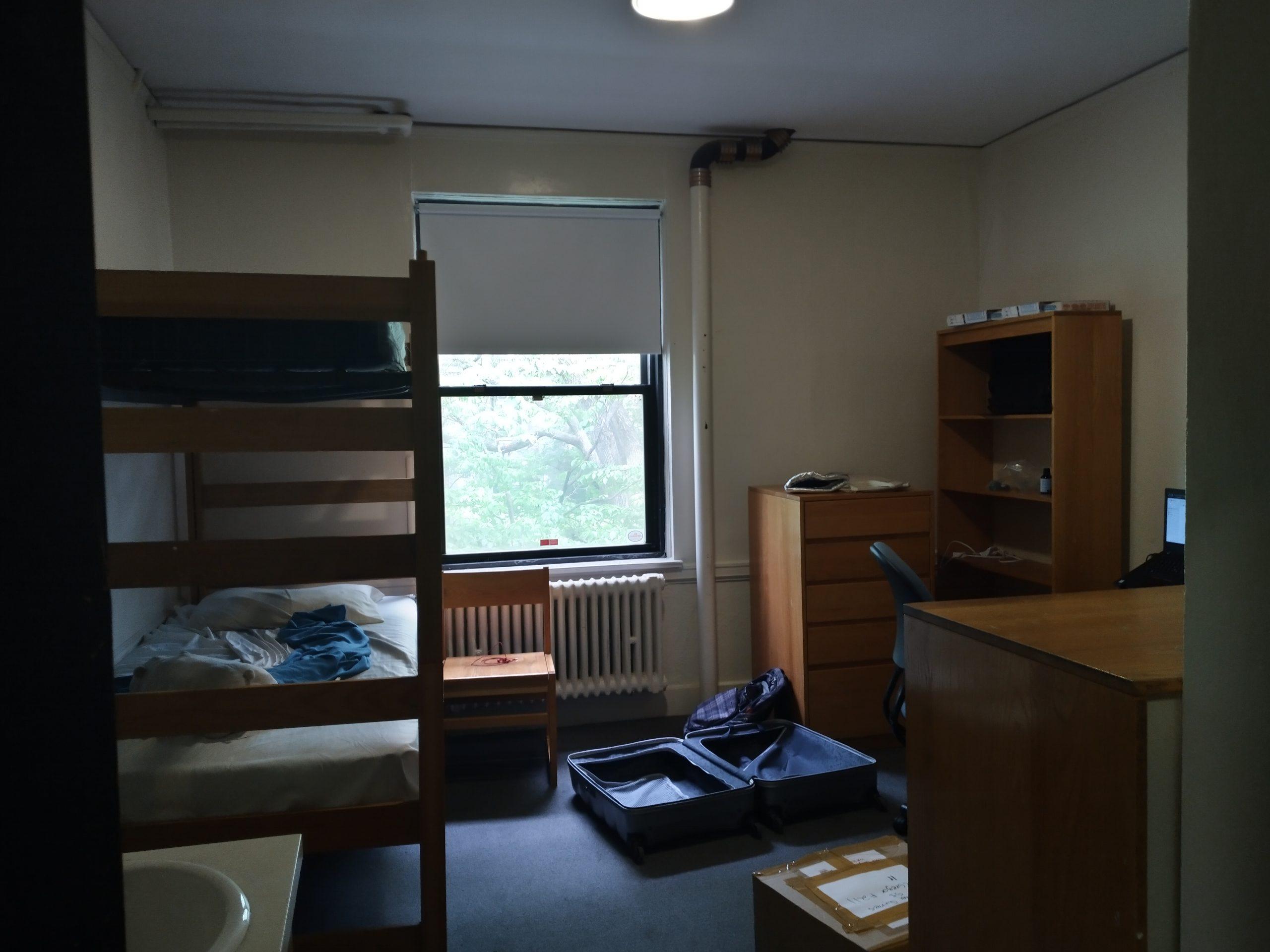 my bedroom in east campus