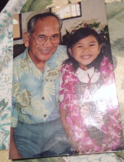 me with my grandfather