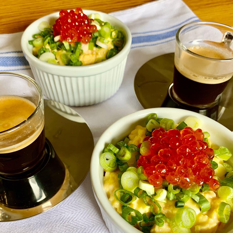 oyako scrambled eggs