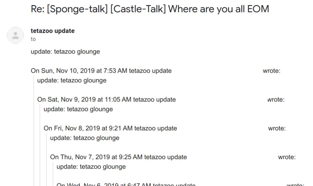 the update tetazoo glounge thread from november 2019