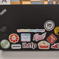 picture of my laptop stickers with