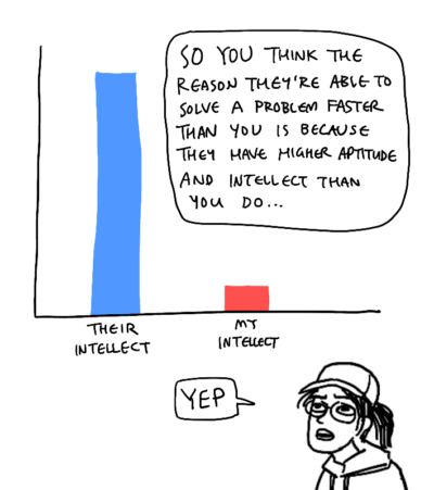 intellect vs experience 1